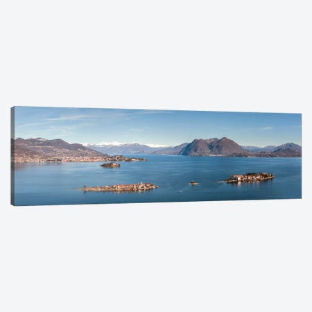 Lake Maggiore, Italy I Canvas Print #TEO1052} by Matteo Colombo Canvas Wall Art