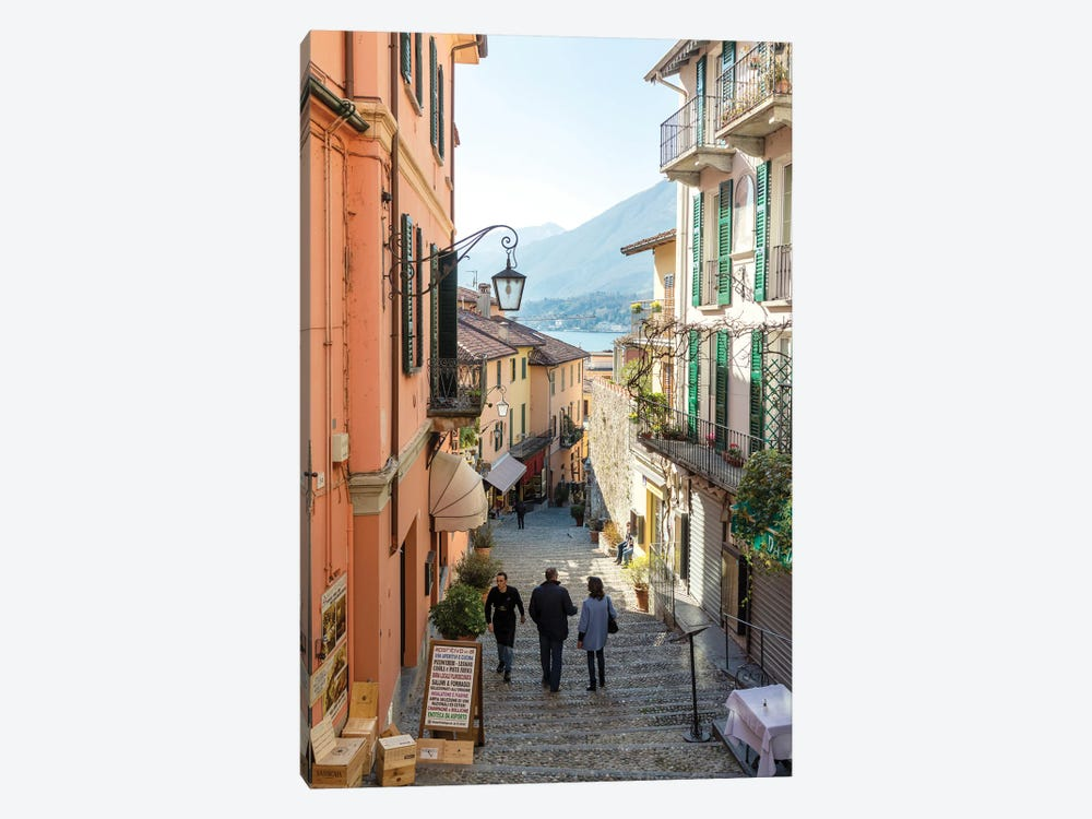 In The Streets Of Bellagio, Italy by Matteo Colombo 1-piece Canvas Artwork