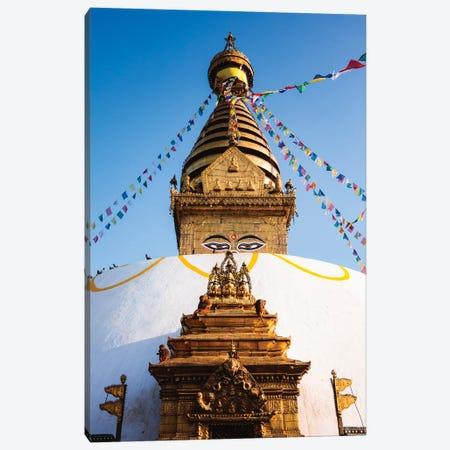 Monkey Temple, Nepal Canvas Print #TEO1057} by Matteo Colombo Canvas Print