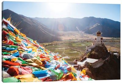 Spiritual Tibet Canvas Art Print