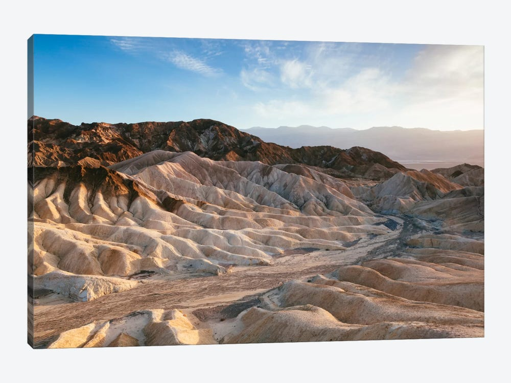 Zabriskie Point At Sunset, Death Valley National Park, California, USA by Matteo Colombo 1-piece Canvas Print