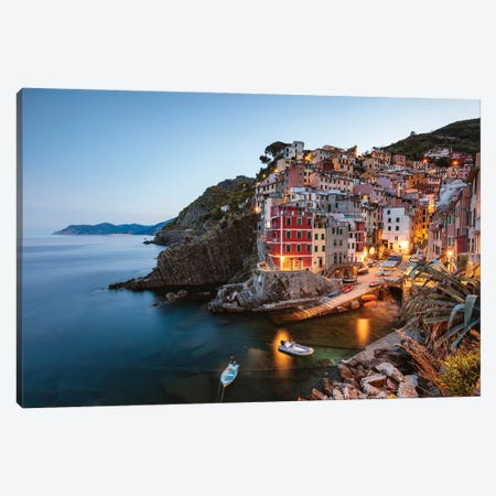 Cinque Terre Sunset V Canvas Print #TEO1075} by Matteo Colombo Art Print