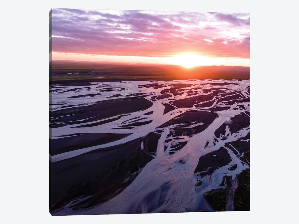 Midnight Sunset, Iceland II by Matteo Colombo 1-piece Art Print