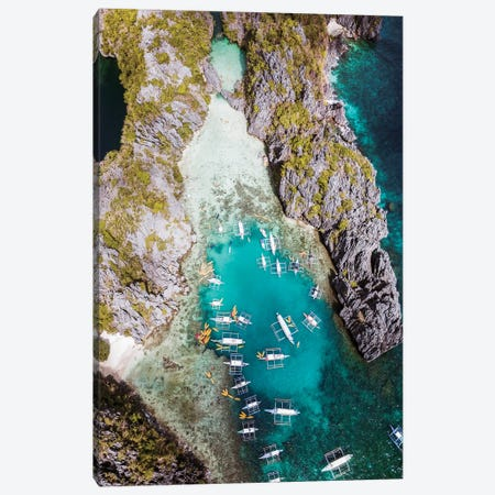 El Nido, Philippines Canvas Print #TEO1098} by Matteo Colombo Canvas Artwork