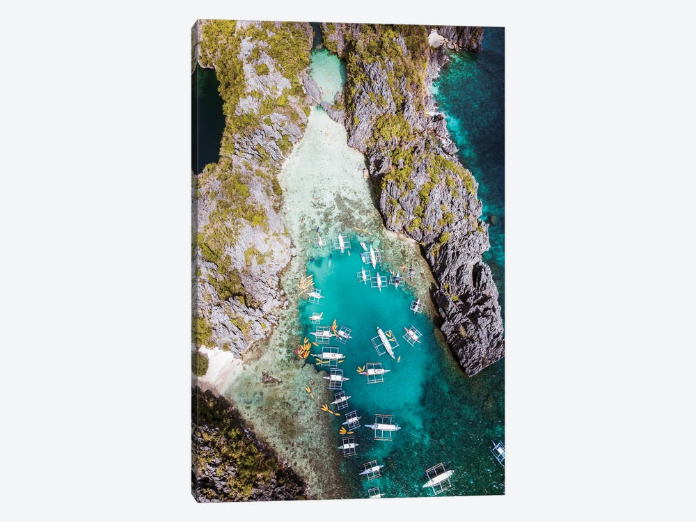 El Nido, Philippines by Matteo Colombo 1-piece Canvas Wall Art