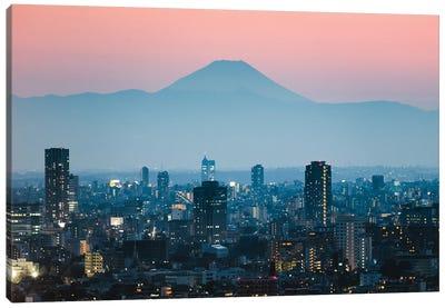 Sunset Over Fuji, Japan Canvas Art Print