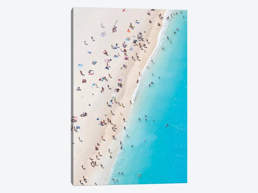 Aerial View Of Myrtos Beach VIII, Cephalonia, Ionian Islands, Greece by Matteo Colombo 1-piece Canvas Art Print