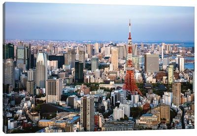 Tokyo Skyline I Canvas Art Print