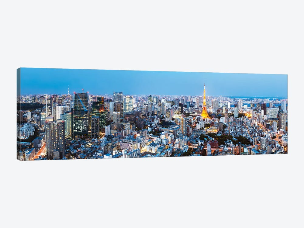 Tokyo Skyline II by Matteo Colombo 1-piece Canvas Art
