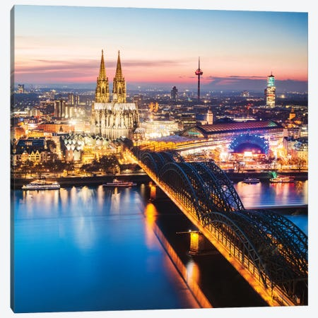 Cologne, Germany III Canvas Print #TEO1122} by Matteo Colombo Canvas Artwork