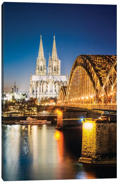Cologne, Germany V Canvas Art Print