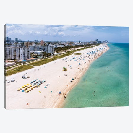 Summer In Miami II Canvas Print #TEO1145} by Matteo Colombo Canvas Print
