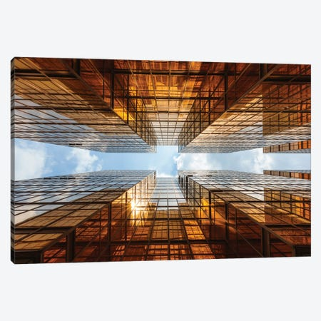 Perspective, Hong Kong II Canvas Print #TEO1149} by Matteo Colombo Canvas Artwork