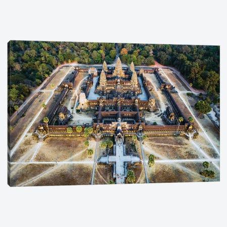 Angkor Wat, Cambodia Canvas Print #TEO1158} by Matteo Colombo Canvas Art Print