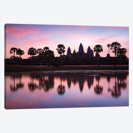 Dawn At Angkor, Cambodia Canvas Print #TEO1159} by Matteo Colombo Canvas Art Print