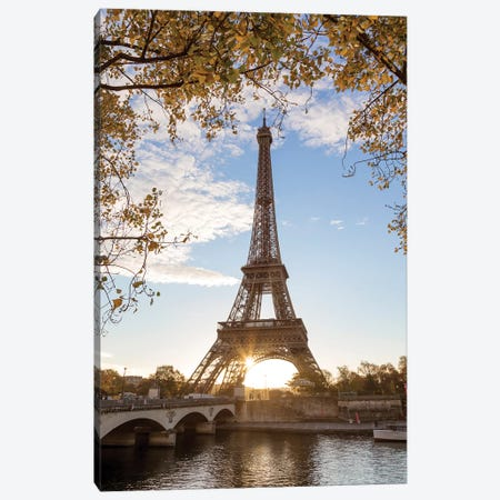 Autumn In Paris Canvas Print #TEO116} by Matteo Colombo Canvas Print