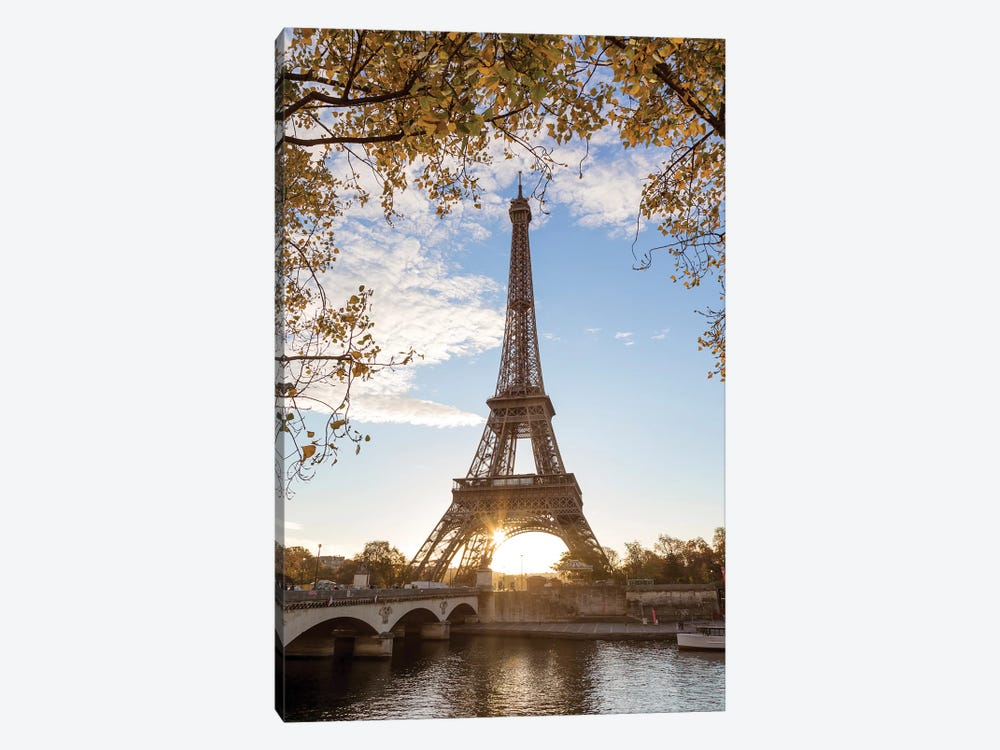 Autumn In Paris by Matteo Colombo 1-piece Canvas Wall Art