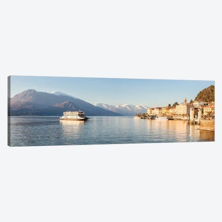 Bellagio Panoramic, Como Lake, Italy Canvas Print #TEO117} by Matteo Colombo Art Print