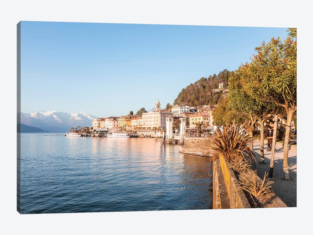 Bellagio Waterfront, Como Lake, Italy by Matteo Colombo 1-piece Canvas Art
