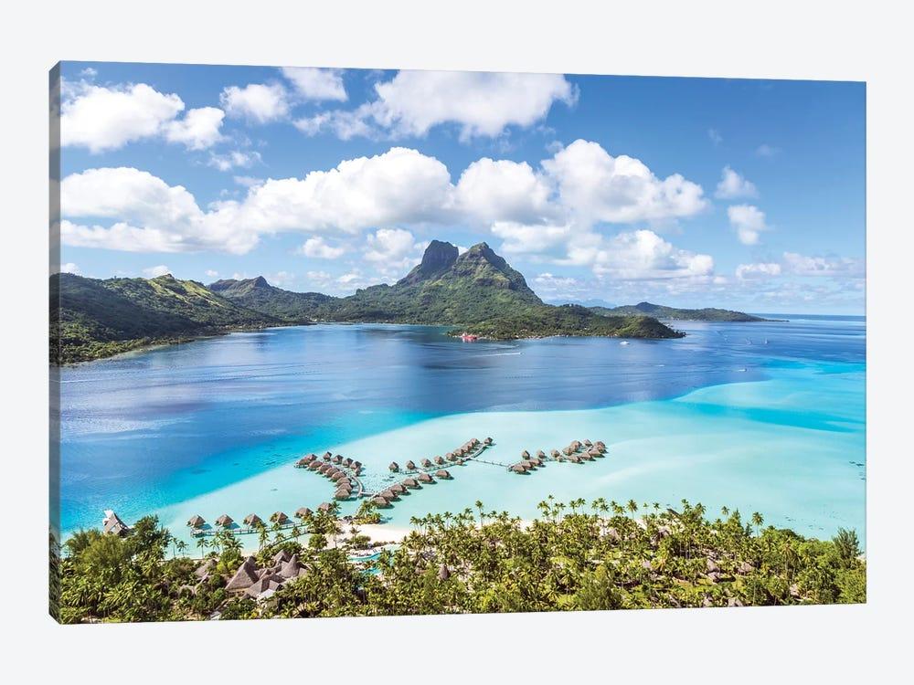 Bora Bora Island, French Polynesia I by Matteo Colombo 1-piece Canvas Print