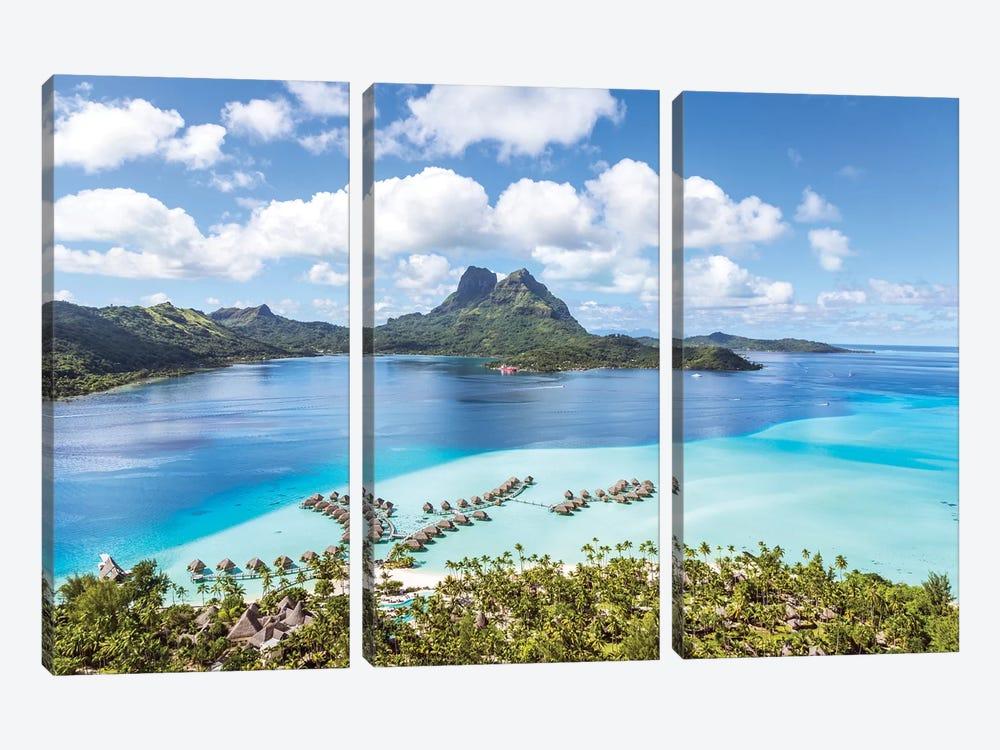 Bora Bora Island, French Polynesia I by Matteo Colombo 3-piece Art Print