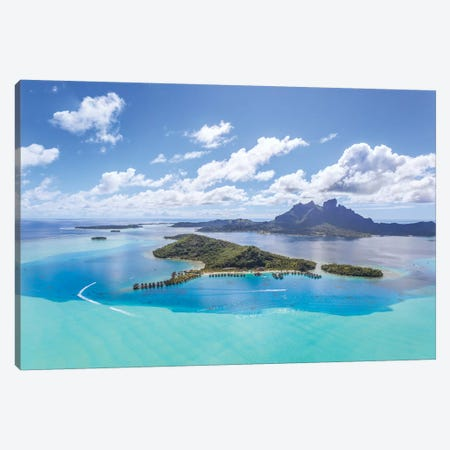 Bora Bora Island, French Polynesia II Canvas Print #TEO120} by Matteo Colombo Canvas Art Print