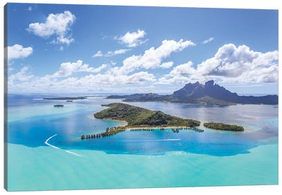 Bora Bora Island, French Polynesia II Canvas Art Print