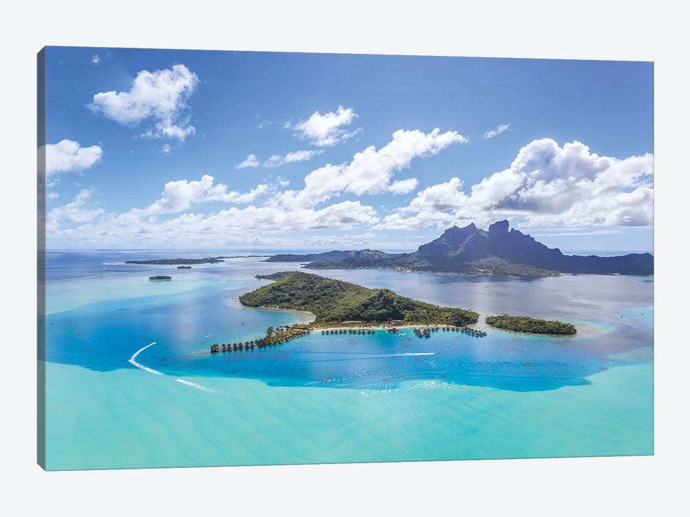 Bora Bora Island, French Polynesia II by Matteo Colombo 1-piece Canvas Art Print