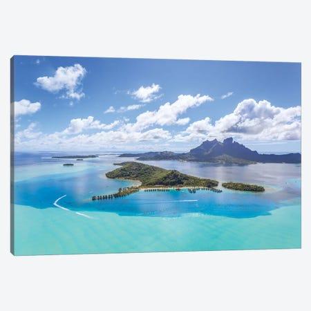 Bora Bora Island, French Polynesia II Canvas Print #TEO120} by Matteo Colombo Canvas Art Print