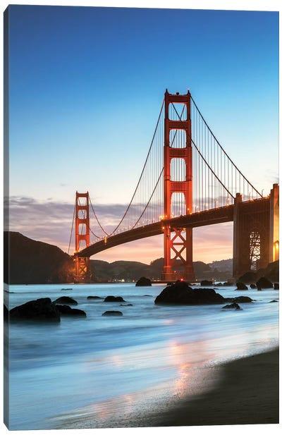Dawn At The Golden Gate, San Francisco Canvas Art Print