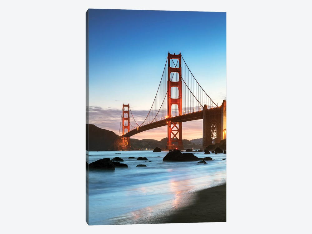 Dawn At The Golden Gate, San Francisco by Matteo Colombo 1-piece Art Print