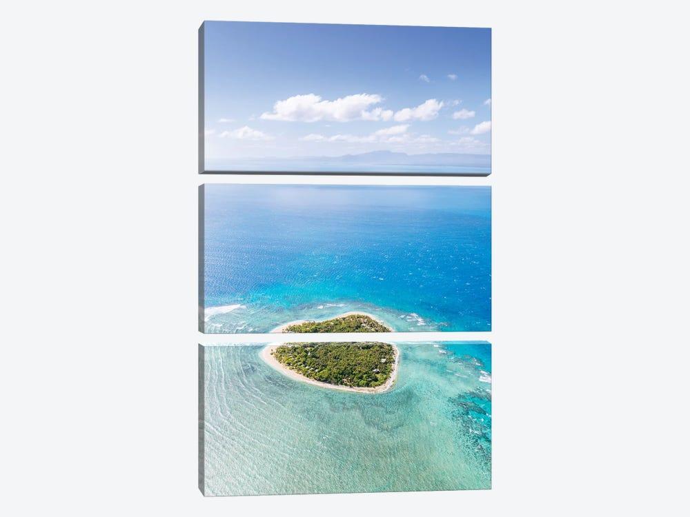 Heart Shaped Island, Mamanucas, Fiji II by Matteo Colombo 3-piece Art Print