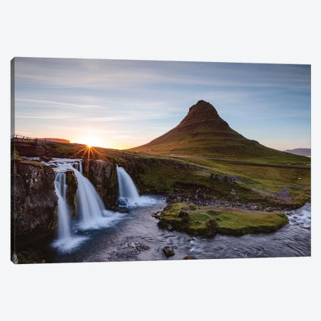 Iconic Kirkjufell, Iceland I Canvas Print #TEO137} by Matteo Colombo Art Print