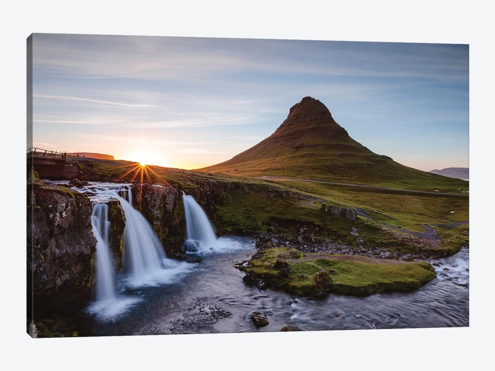 Iconic Kirkjufell, Iceland I by Matteo Colombo 1-piece Art Print