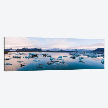 Jokulsarlon Glacial Lake, Iceland Canvas Print #TEO139} by Matteo Colombo Canvas Art