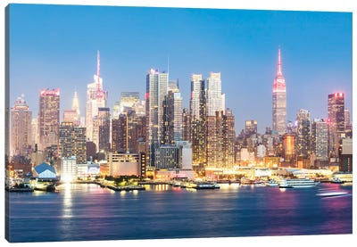 Midtown Manhattan Skyline, New York City Canvas Art Print