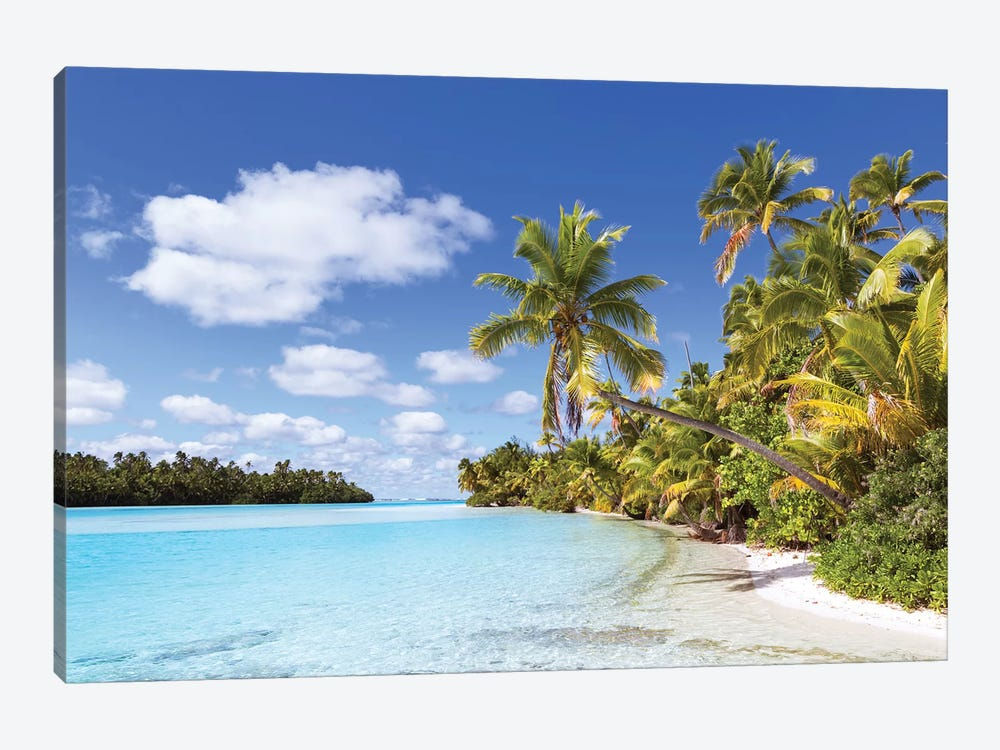 One Foot Island, Aitutaki, Cook Islands I by Matteo Colombo 1-piece Canvas Artwork