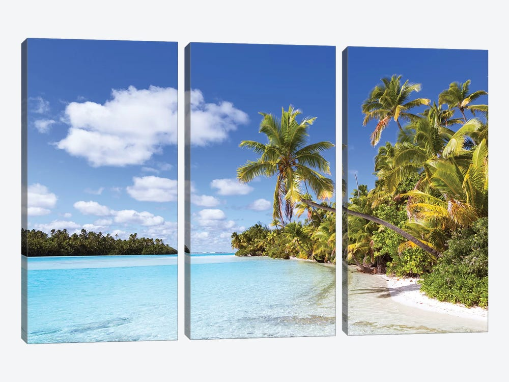 One Foot Island, Aitutaki, Cook Islands I by Matteo Colombo 3-piece Canvas Art