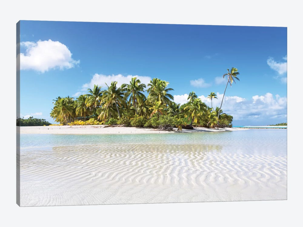 One Foot Island, Aitutaki, Cook Islands II by Matteo Colombo 1-piece Canvas Print