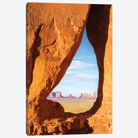 Teardrop Arch, Monument Valley Canvas Print #TEO170} by Matteo Colombo Canvas Art