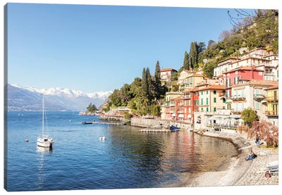 Varenna On Como Lake, Italy Canvas Art Print