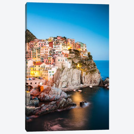 Mediterranean Town II Canvas Print #TEO181} by Matteo Colombo Art Print