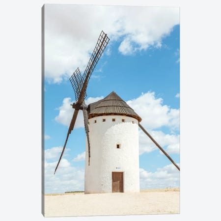 Windmill Canvas Print #TEO182} by Matteo Colombo Art Print