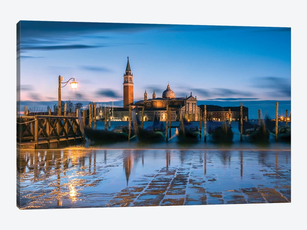 Blue Venice by Matteo Colombo 1-piece Art Print