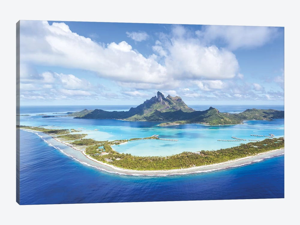 Bora Bora Island, French Polynesia by Matteo Colombo 1-piece Canvas Art