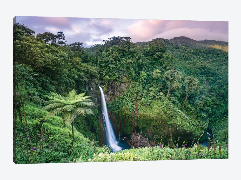Catarata Del Toro Waterfall, Costa Rica by Matteo Colombo 1-piece Canvas Art