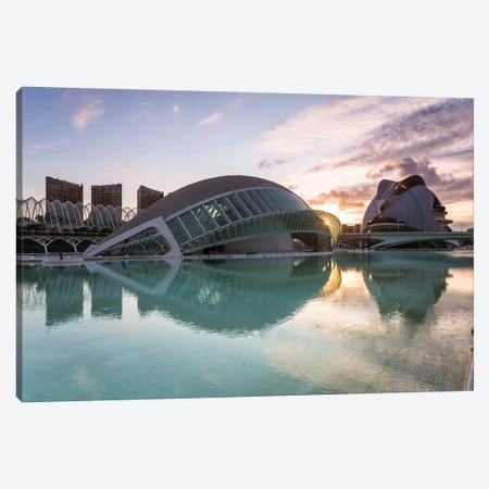 City Of Arts And Sciences, Valencia, Spain Canvas Print #TEO193} by Matteo Colombo Canvas Artwork