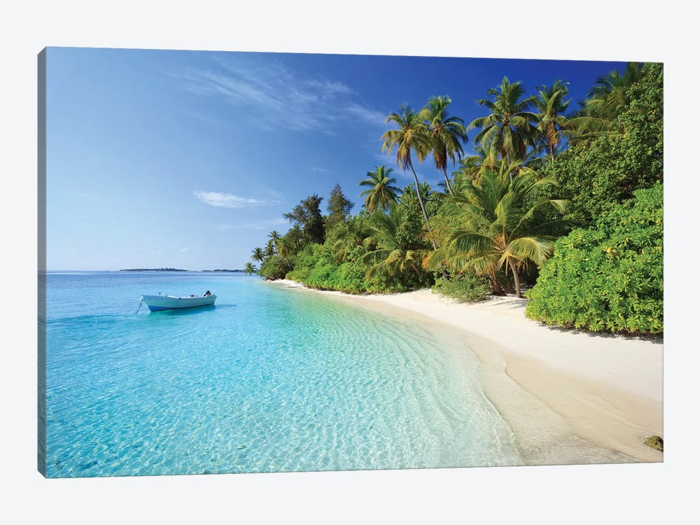 Dream Island, Maldives by Matteo Colombo 1-piece Canvas Art
