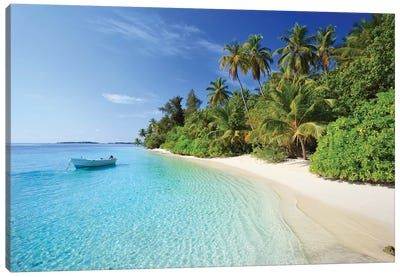 Dream Island, Maldives Canvas Art Print