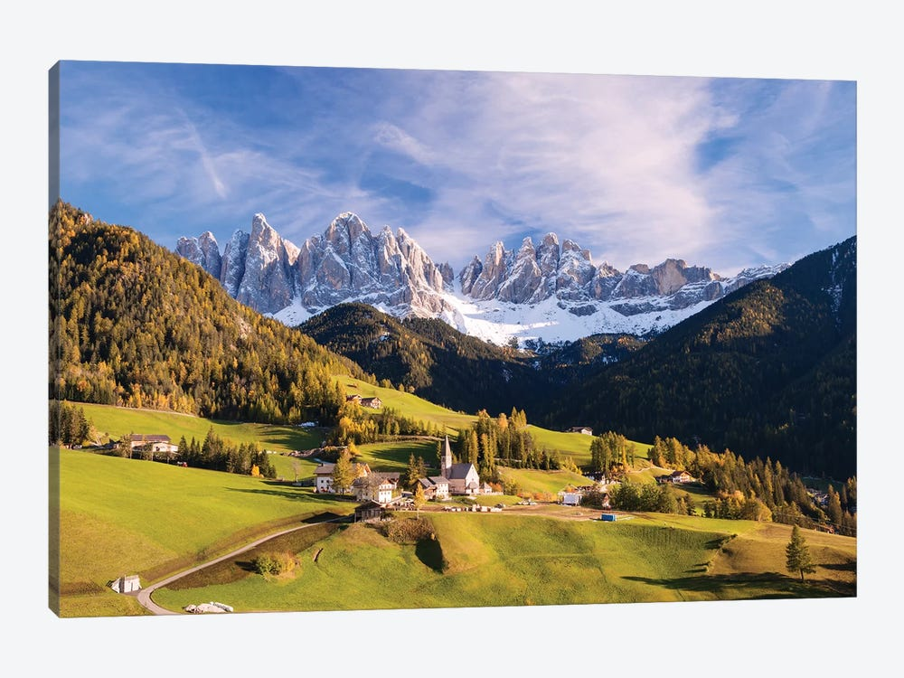 Funes Valley In The Dolomites by Matteo Colombo 1-piece Art Print